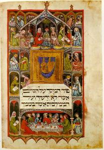 Haggadah_14th_cent